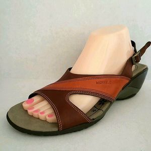 Merrell Primrose Leather Slingback Comfort Sandals